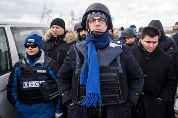 В Донбассе были обстреляны беспилотники миссии ОБСЕ