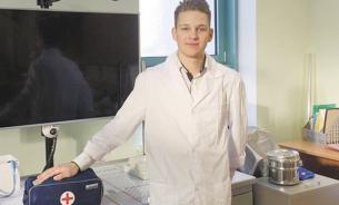 Ученик медицинского класса стал заслуженным москвичом