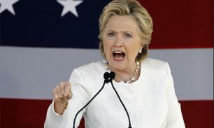 """""""Проклятие ведьмы"""": Клинтон продолжает валить флаги США"""