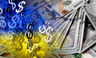 Полуголые пикетчики блокируют представительство МВФ в Киеве