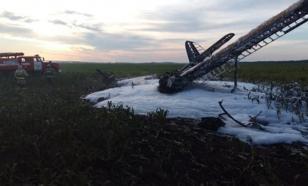 Ан-2 разбился в Нижегородской области. Погиб человек