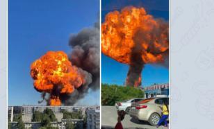 В Новосибирске взорвалась автозаправочная станция