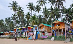 Пляжи в Гоа из-за коронавируса остались без туристов