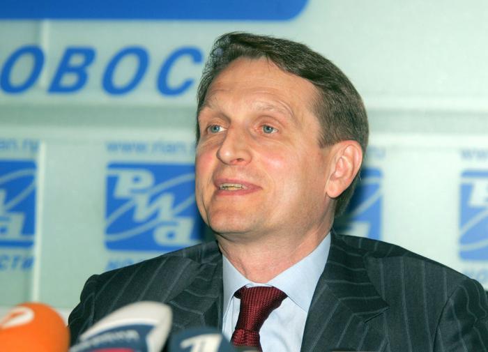 Нарышкин назвал политизированным доклад США о коронавирусе