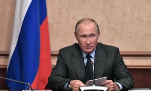 """Путин: Новый атомный ледокол """"Сибирь"""" поможет освоению Севера"""