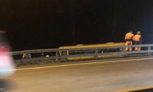 Автобус с пассажирами попал в ДТП в Новой Москве