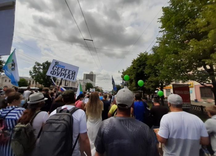 Политолог: митинги в поддержку Фургала исчерпают себя к концу лета