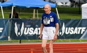 96-летний американец побил рекорд в беге на 5000 м