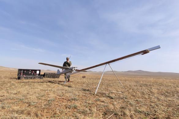 За лесными пожарами в Бурятии следят военные беспилотники