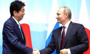 Абэ заручился поддержкой Путина и Трампа