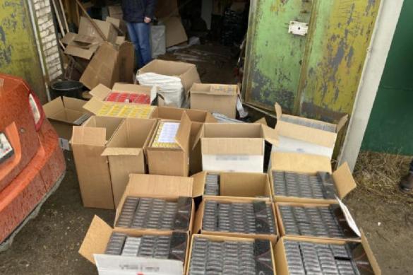 У жителя Мурома изъяли партию нелегальных сигарет