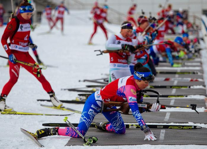 Биатлонная сборная России приехала в Поклюку готовиться к ЧМ