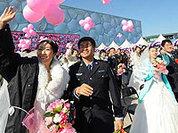 В Гойанге одновременно обвенчались несколько тысяч человек