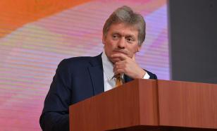 Песков опроверг отказ от строительства ВСМ Москва - Казань