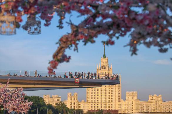 Синоптик рассказал о погоде в Москве после майских праздников