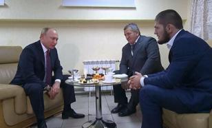 В Кремле подтвердили встречу Нурмагомедова и Путина