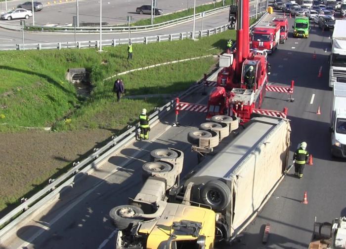В Германии столкнулись 200 машин. Автобан перекрыт