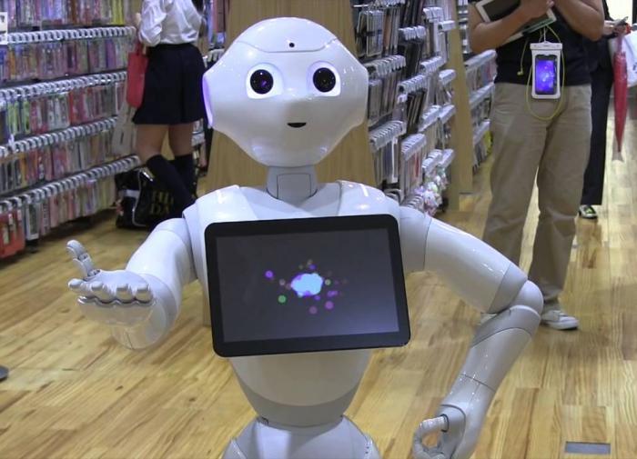 В Японии разработали робота-мерчендайзера