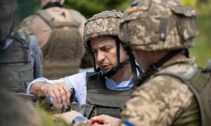 """Зеленский пригрозил """"жестким ответом"""" на обстрелы позиций ВСУ в Донбассе"""