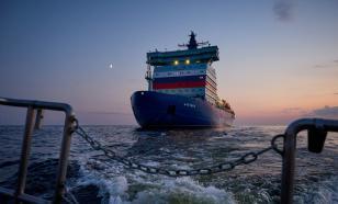 """Ледокол """"Арктика"""" завершает свою первую миссию"""