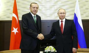 """В Кремле рассказали о возможной встрече Путина с Эрдоганом на саммите """"двадцатки"""""""