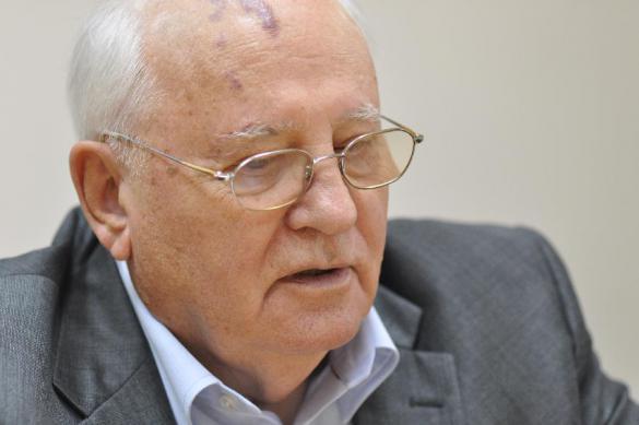 Автограф века - не для Горбачева.