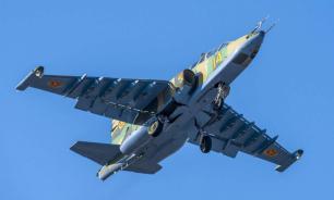 Штурмовик Су-25УБ разбился в Ставропольском крае