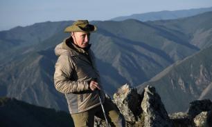 Песков рассказал, что Путин делал в сибирской тайге