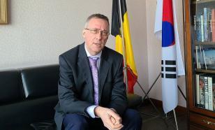 Бельгия отозвала из Сеула посла, жена которого подралась с дворником