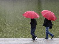 Воскресенье в Москве будет дождливым.