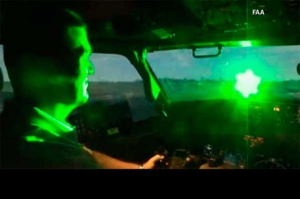 Китай борется с США лазерными указками?