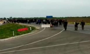 Мигранты из Азии устроили беспорядки на границе РФ с Казахстаном
