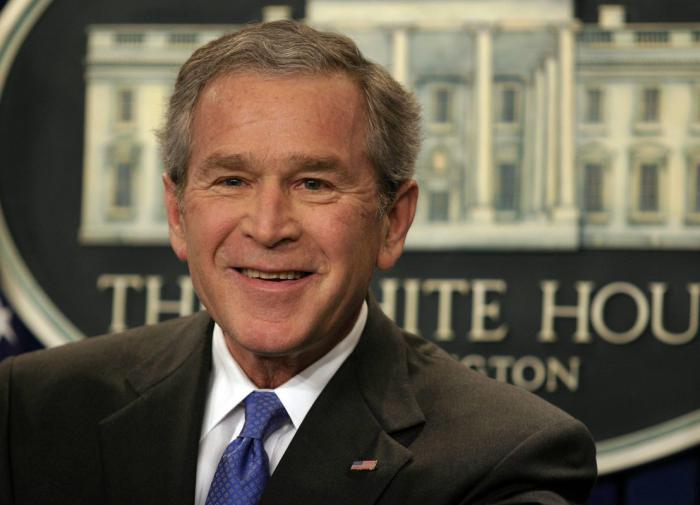 Сергей Снегов: дорогой Буш, извините, Что поздравили