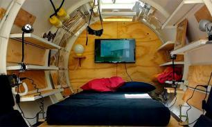 Архитектор из Аргентины сделал мини-квартиру из старой цистерны