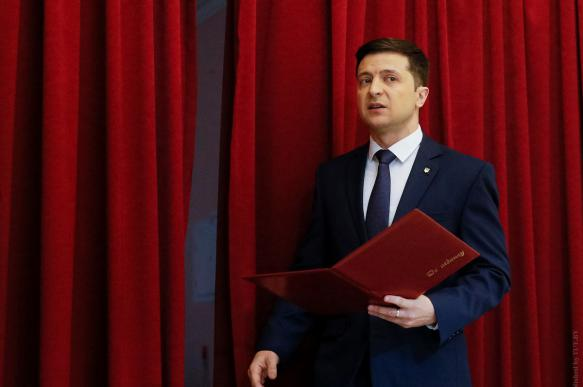 Россия не будет приглашена на инаугурацию Зеленского