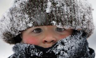 Трескучие морозы надвигаются на Москву и область