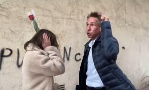 Панина возмутила выходка вандалов, написавших про Путина на стене