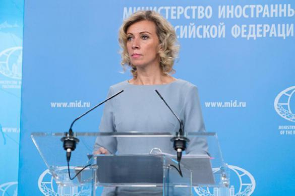Захарова прокомментировала ситуацию вокруг обысков у биатлонистов