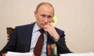 Путин впервые провел телефонные переговоры с Зеленским