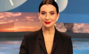 Екатерина Стриженова пошутила над своим падением в прямом эфире