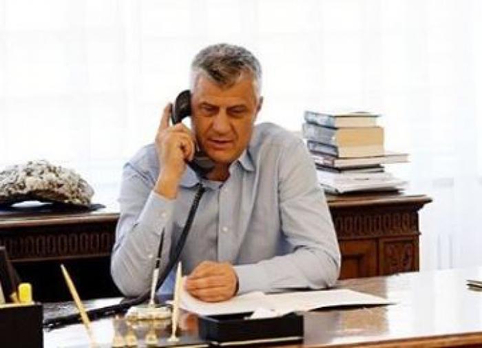 Президент Косово уходит с поста, чтобы предстать перед судом в Гааге
