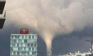 В Германии снова катаклизм: мощный торнадо пронёсся по Килю