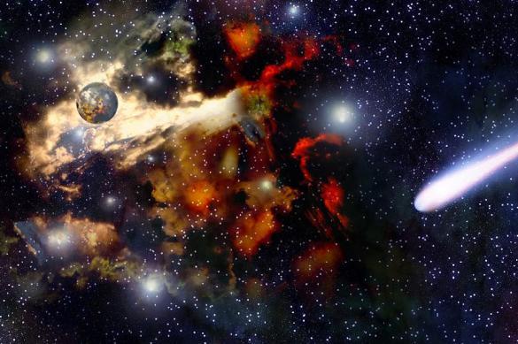 Ученые наблюдают за распадающейся на части планетой