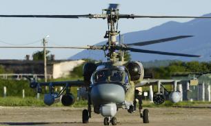 """Вертолет Ка-52 получил уникальную широкополосную систему связи """"Бриз"""""""