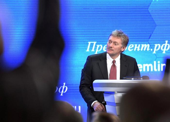 Песков рассказал о работе Путина над статьёй про Украину