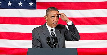 Обама побрезговал лично поздравить россиян с Днем Победы. Зато напомнил о роли США