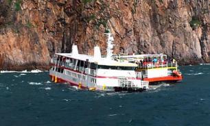 Финский паром с 600 пассажирами из-за морозов застрял в порту Стокгольма