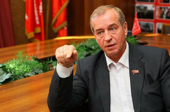 Иркутский губернатор отправлен в отставку
