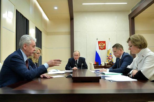 Путину доложили о темпах распространения коронавируса в России