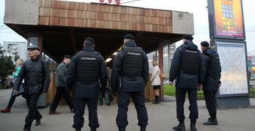 На юге Москвы задерживают националистов